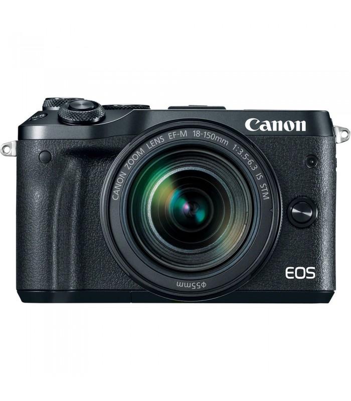 دوربین بدون آینه کانن مدل EOS M6 به همراه لنز EF-M 18-150mm f/3.5-6.3 IS STM