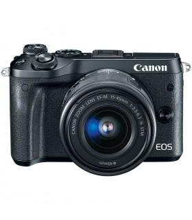 دوربین بدون آینه کانن مدل EOS M6 به همراه لنز EF-M 15-45mm IS STM