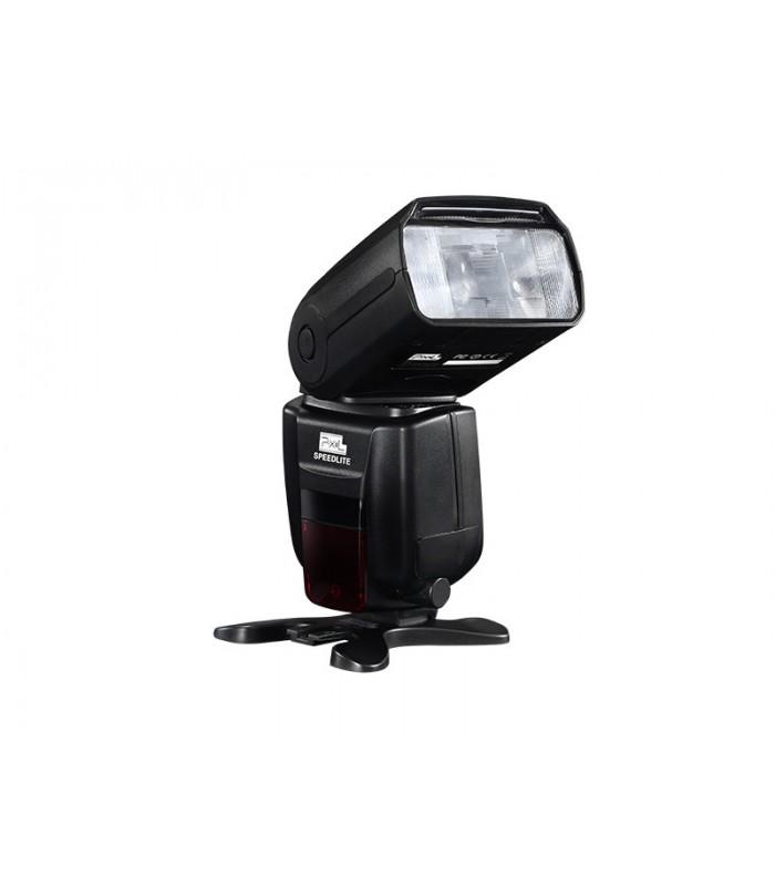 فلاش رو دوربینی Pixel مدل X800C Pro مخصوص دوربین های کانن - دست دوم