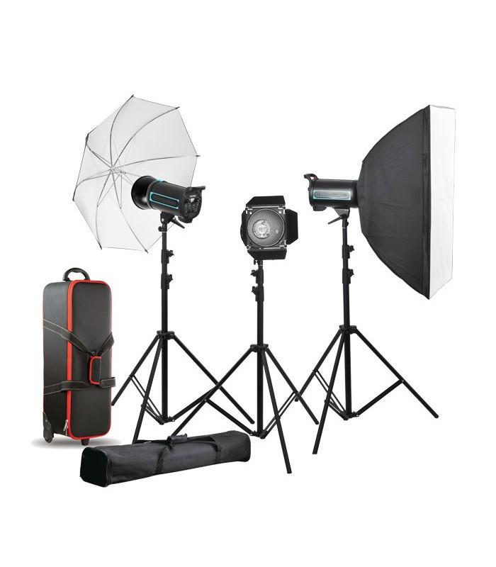 فلاش کیت استودیویی Godox مدل QS300II