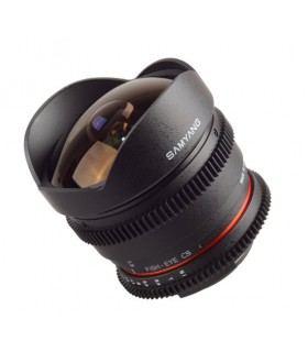 Samyang 8mm T3.8 Fish-eye Cine - Nikon Mount