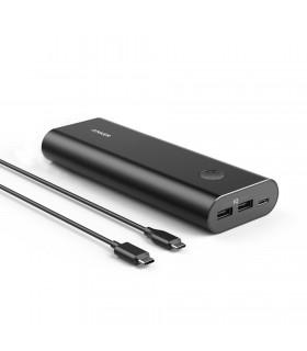 پاور بانک انکر مدل Anker PowerCore+ USB-C A1371 با ظرفیت ۲۰۱۰۰ میلیآمپر