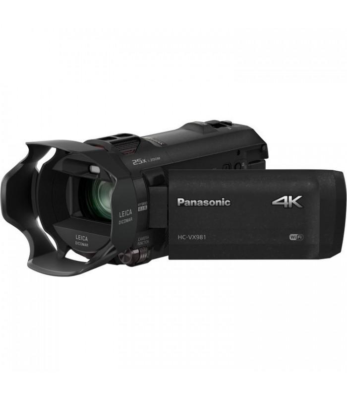 دوربین فیلم برداری پاناسونیک مدل Panasonic HC-VX981K 4K