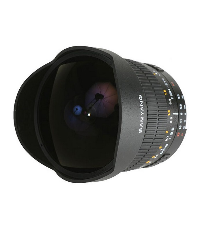 Samyang 8 mm f3.5 Aspherical IF MC Fish-eye