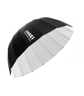 چتر عمیق پارابولیک سفید ۱۳۰ سانتیمتری Jinbei