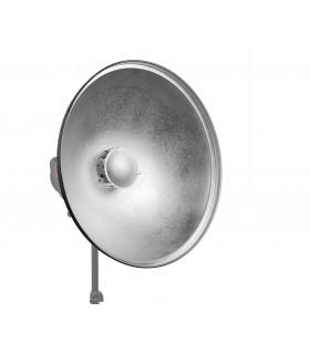 بیوتی دیش نقره ای با قطر دهانه 55 سانتی متر