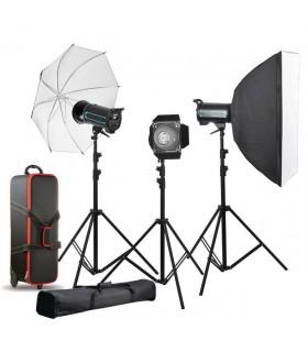 فلاش کیت استودیویی Godox QS400II به سفارش S&S