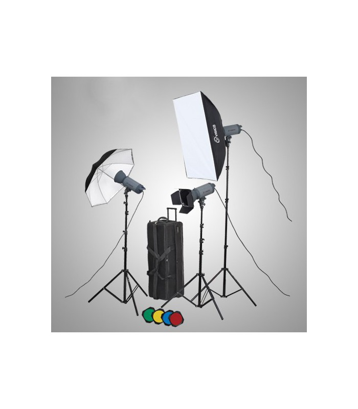 Visico Studio Flash VC-300 HH Novel kit