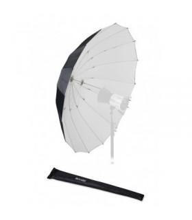 S&S 150cm Shallow White Umbrella