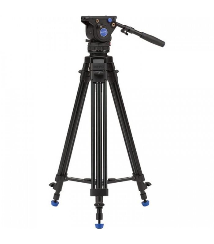 کیت سه پایه و سرسه پایه ویدئویی Benro مدل BV4
