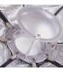 S&S BLD-110(Silver) Beauty Dish Portable 110cm