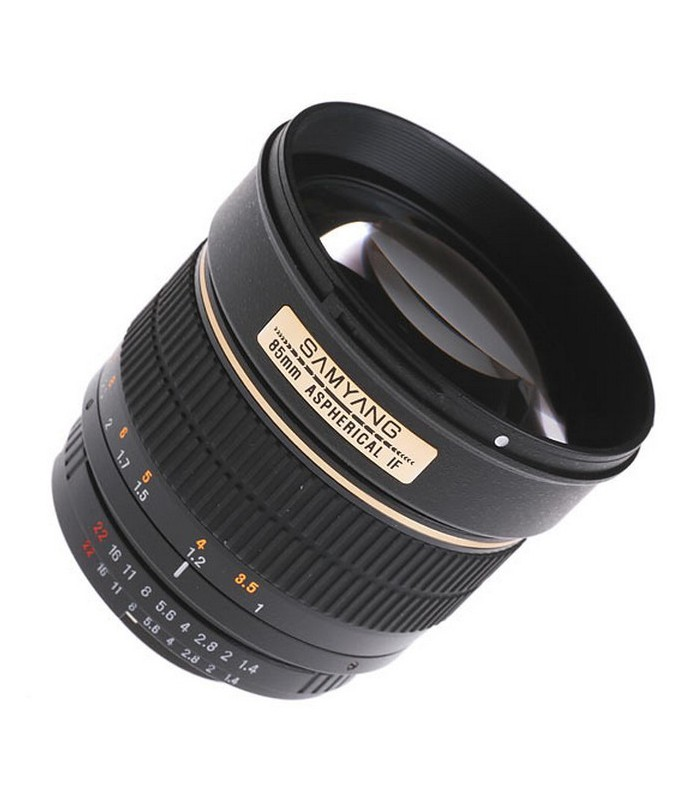 Samyang 85 mm f1.4 IF MC Aspherical