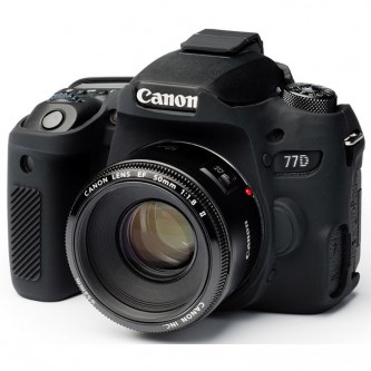 easyCover Silicone Protection Cover for Canon 77D