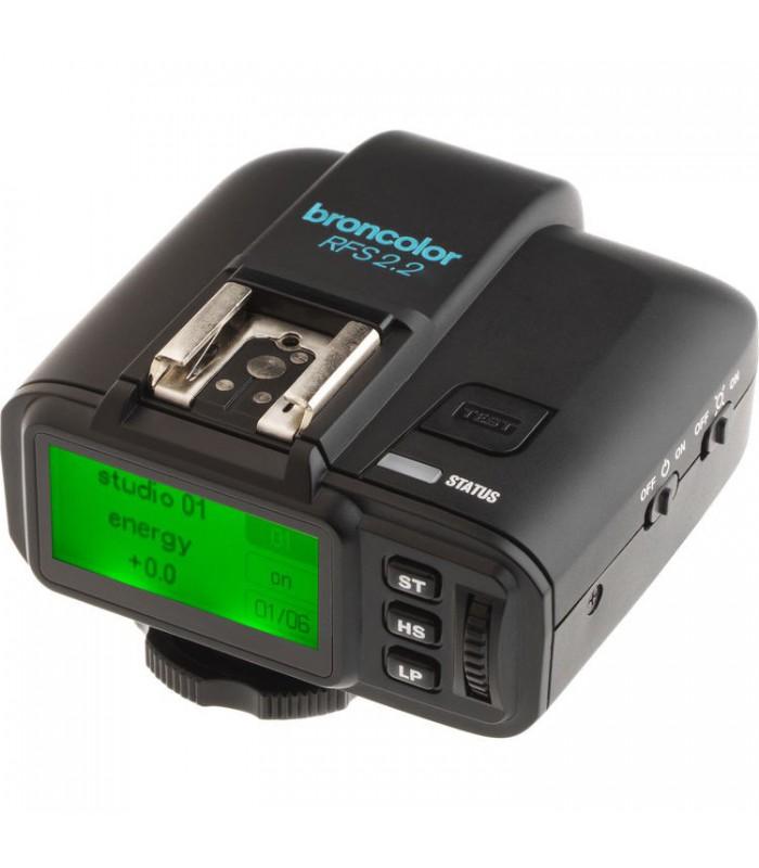 رادیوتریگر broncolor مدل RFS 2.2 N Transceiver مخصوص دوربین های نیکون