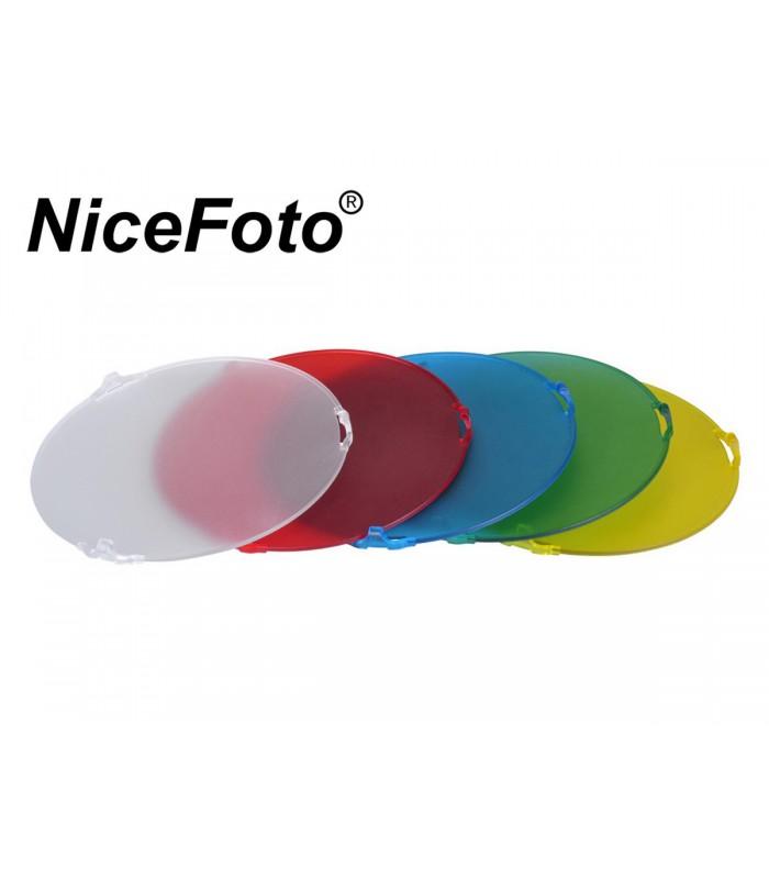 فیلتر رنگی Nice Foto SN-518 برای کاسه استاندارد