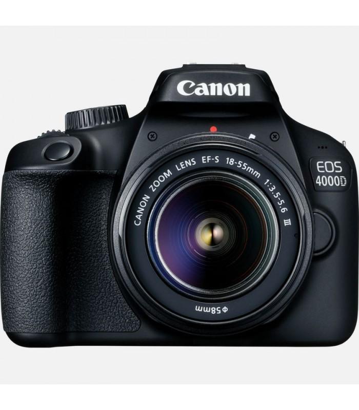 دوربین Canon مدل 4000D به همراه لنز EF-S 18-55mm III
