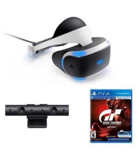 هدست واقعیت مجازی سونی مدل PlayStation VR همراه دوربین و بازی Gran Turismo
