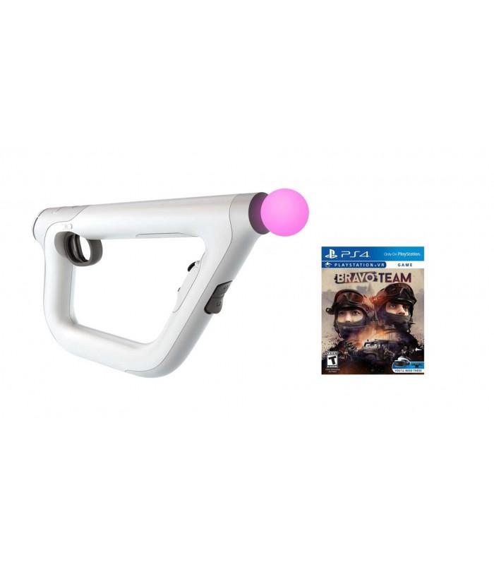 تفنگ واقعیت مجازی سونی مدل PSVR Aim Controller Bravo Team Bundle