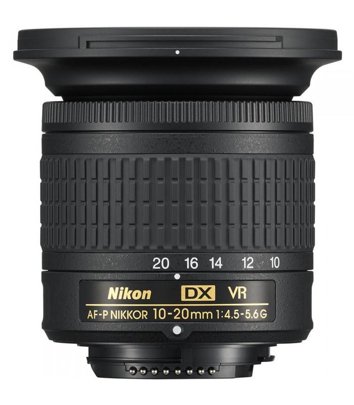لنز زوم اولترا واید تا واید نیکون مدل AF-P DX NIKKOR 10-20mm f/4.5-5.6G VR