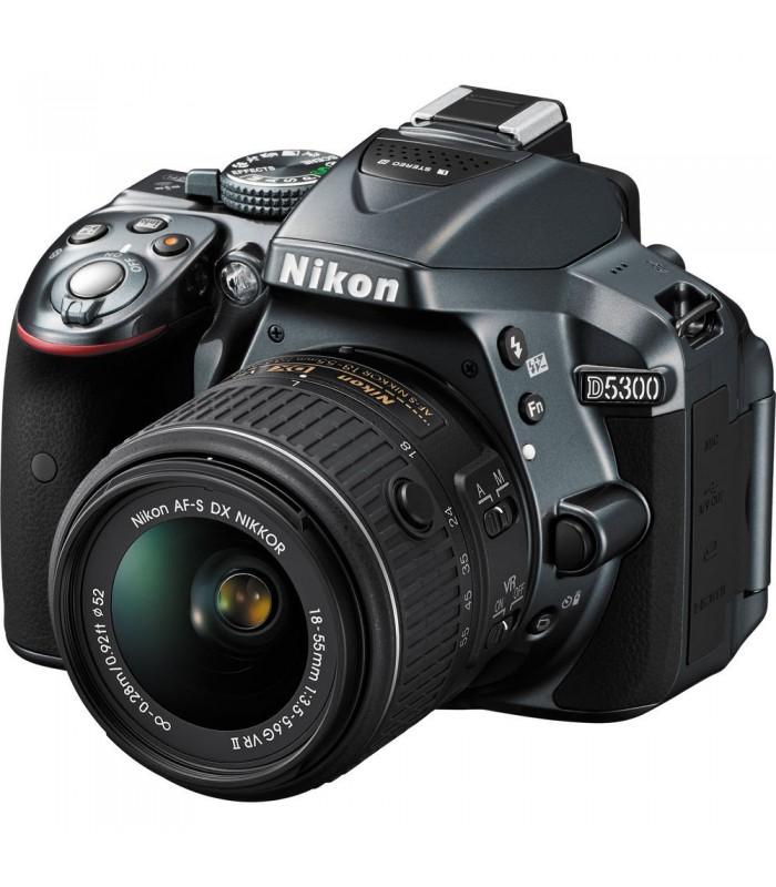 دوربین دیجیتال دست دوم نیکون مدل D5300 همراه لنز DX 18-55mm VR II
