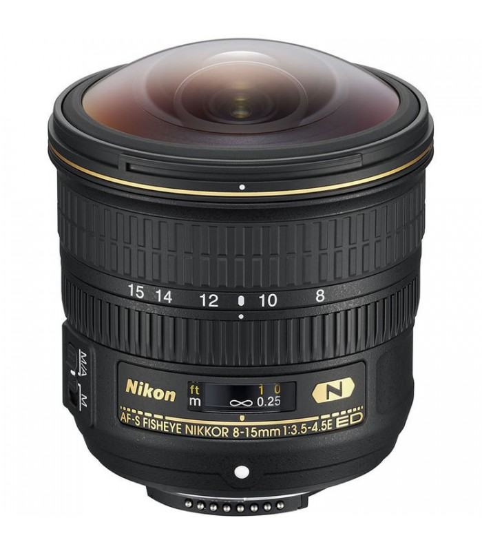 لنز فیش آی Nikon مدل Nikkor 8-15 F3.5-4.5E ED