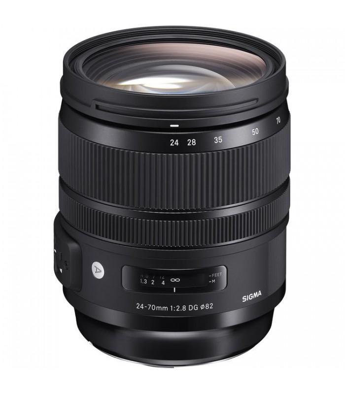 لنز Sigma مدل Art 24-70mm F2.8 DG OS HSM مخصوص دوربین های نیکون