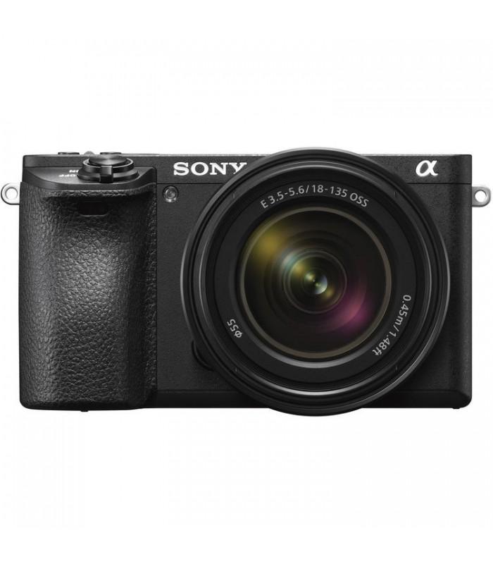 دوربین بدون آینه Sony مدل A6500 به همراه لنز E 18-135mm