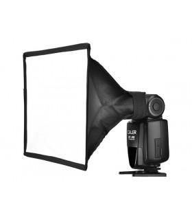 سافت باکس فلاش رو دوربینی ۱۵x۱۸ سانتی S&S