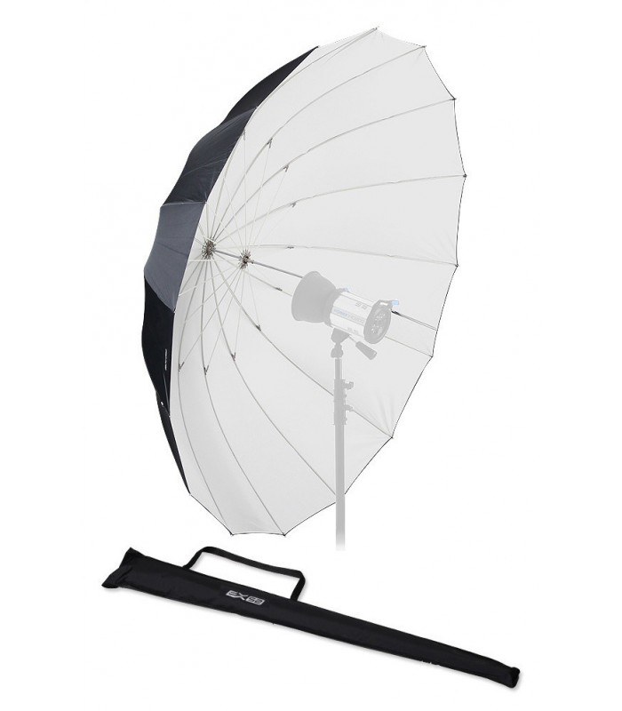 Fomex 182cm Glassfiber Umbrella Black&White