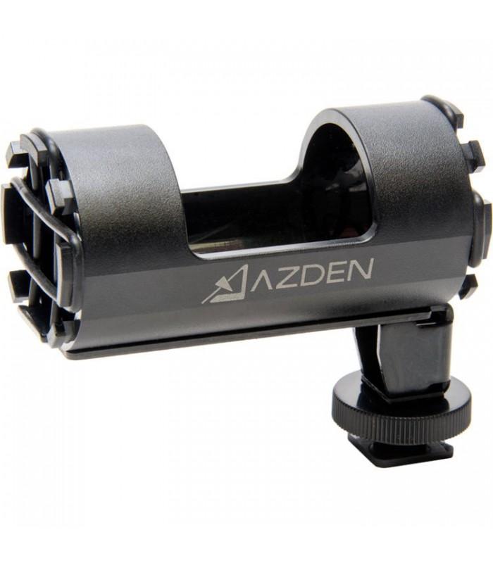 نگهدارنده و لرزشگیر میکروفن شات گان Azden مدل SMH-1 برای اتصال به کفشک دوربین