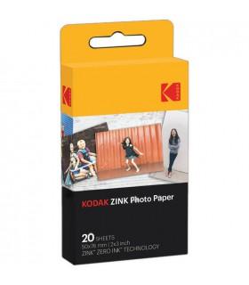 "کاغذ عکس Kodak مدل 2X3"" ZINK Photo Paper بسته ۲۰ تایی"