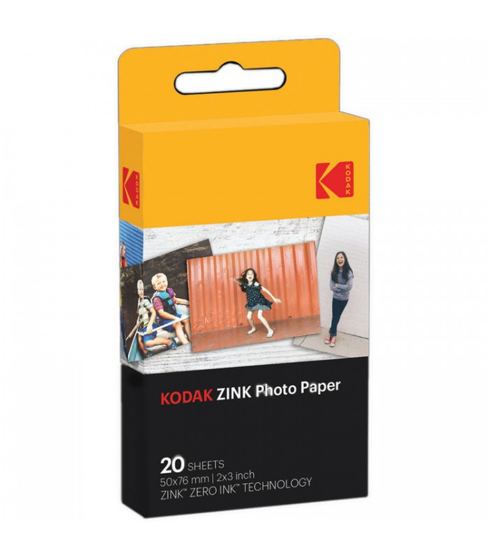 "کاغذ عکس Kodak مدل 2X3"" ZINK Photo Paper بسته ۵۰ تایی"