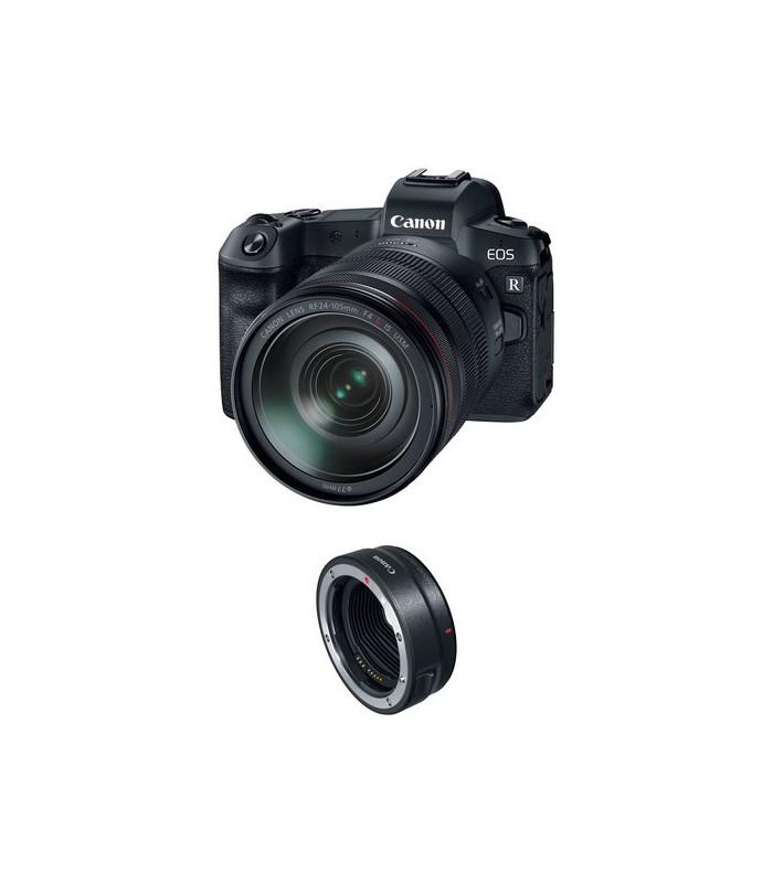 دوربین بدون آینه کانن مدل canon EOS R به همراه لنز EF 24-105mm