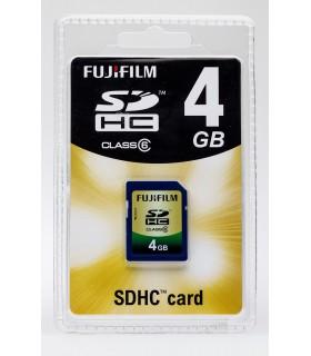 FUJIFILM 4GB SDHC Class 6