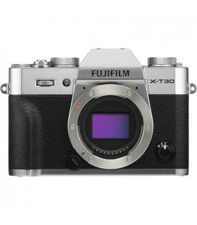 دوربین دیجیتال بدون آینه Fujifilm مدل X-T30 رنگ نقره ای