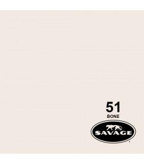 فون کاغذی SAVAGE کد رنگی Bone 51-12