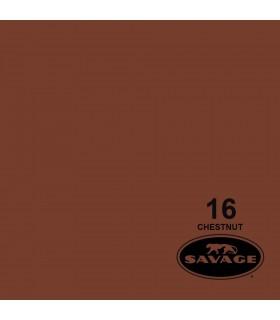 فون کاغذی SAVAGE کد رنگی Chestnut 16-12
