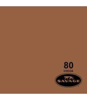 فون کاغذی SAVAGE کد رنگی Cocoa 80-12