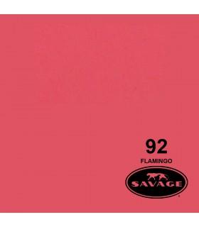 فون کاغذی SAVAGE کد رنگی Flamingo 92-12