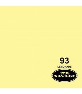 فون کاغذی SAVAGE کد رنگی Lemonade 93-12