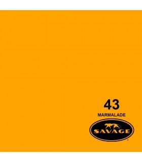 فون کاغذی SAVAGE کد رنگی Marmalade 43-12