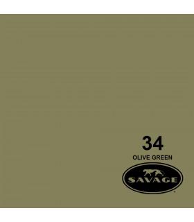 فون کاغذی SAVAGE کد رنگی Olive Green 34-12