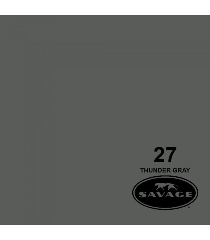 فون کاغذی SAVAGE کد رنگی Thunder Gray 27-12