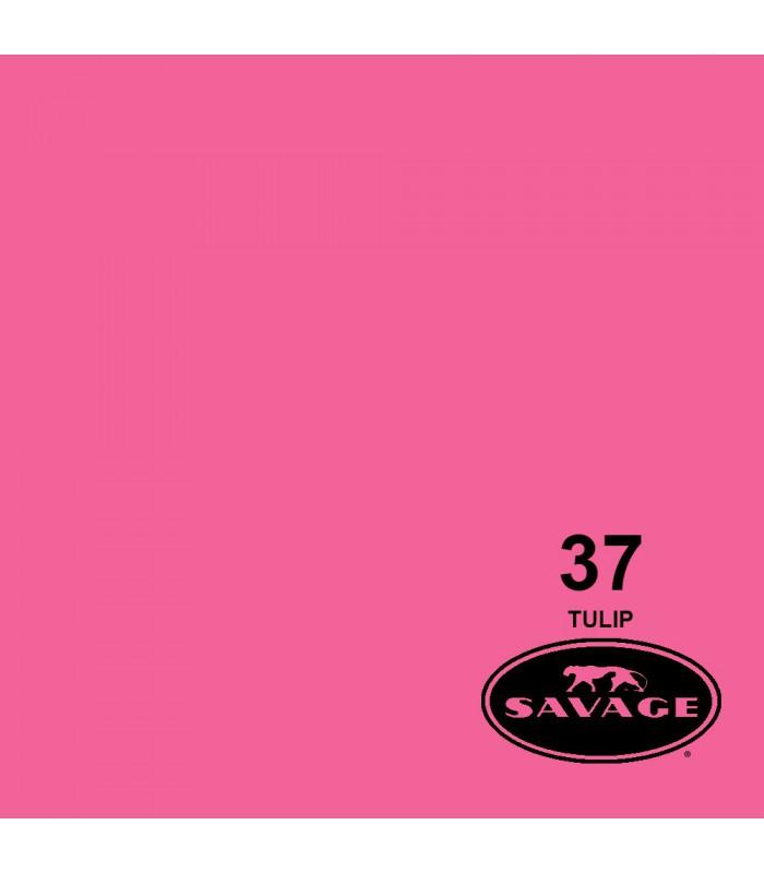فون کاغذی SAVAGE کد رنگی Tulip 37-12