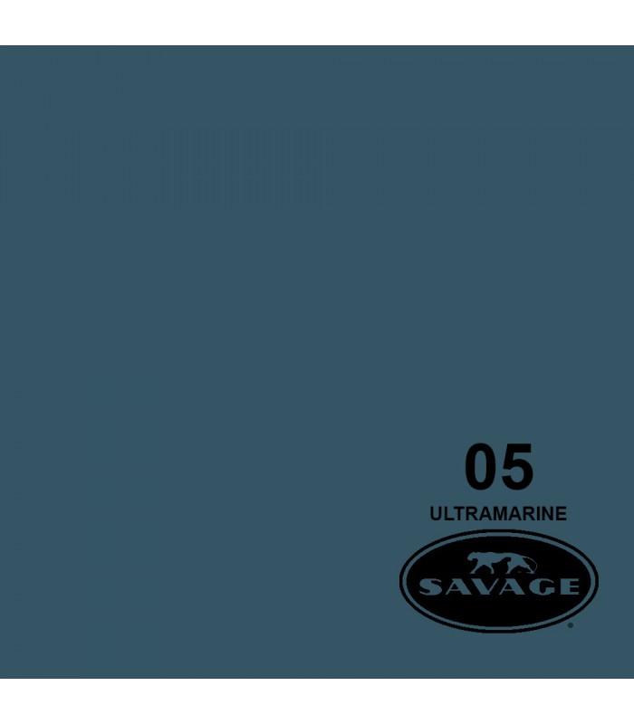 فون کاغذی SAVAGE کد رنگی Ultramarine 05-12