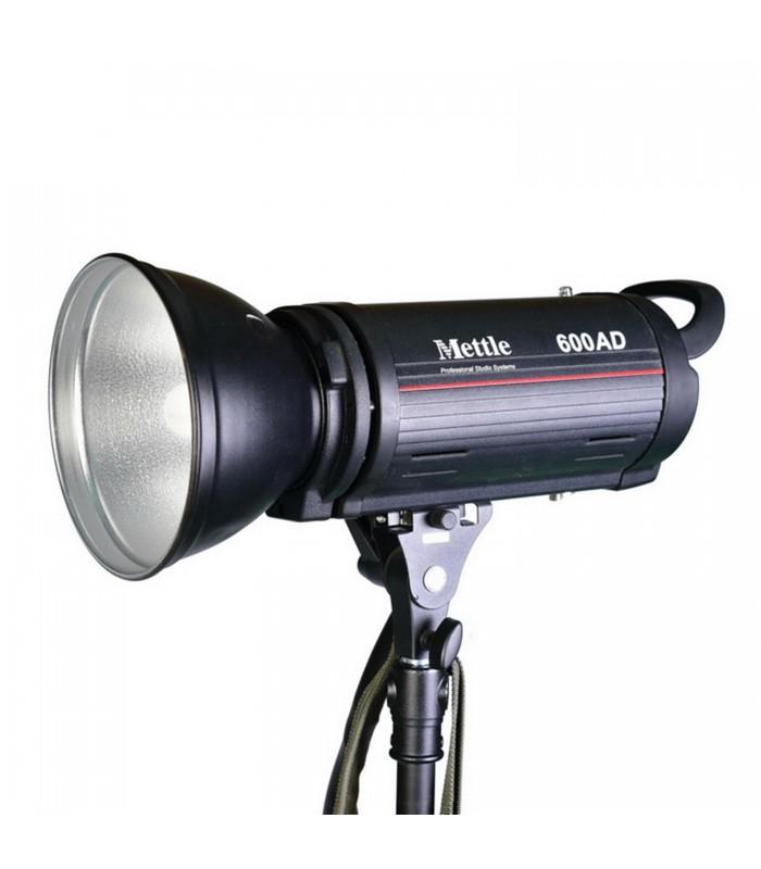 Mettle 600J Battery/AC Studio Flash Head MT-600AD
