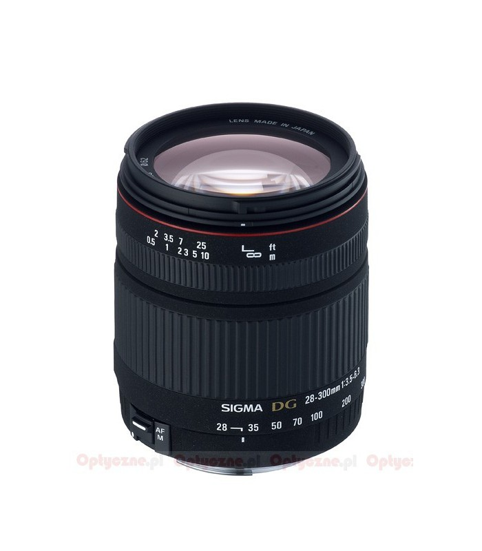 SIGMA 28-300 F3.5-6.3 DG MACRO - Canon Mount