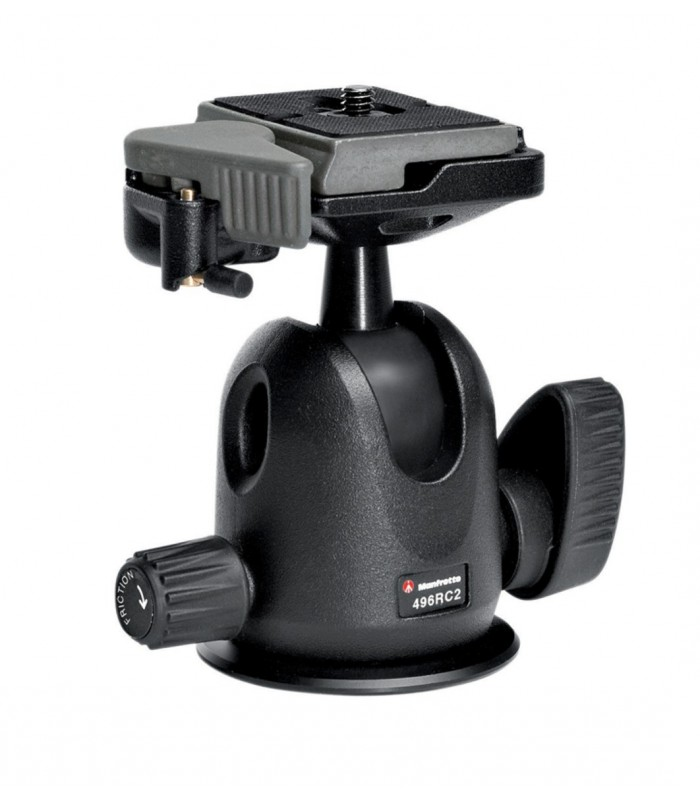 Manfrotto COMPACT BALL HEAD WITH RC2 RAPID CONNECT SYSTEM-496RC2
