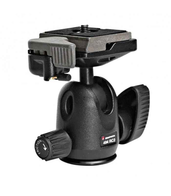 Manfrotto MINI BALL HEAD WITH RC2 RAPID CONNECT SYSTEM-494RC2