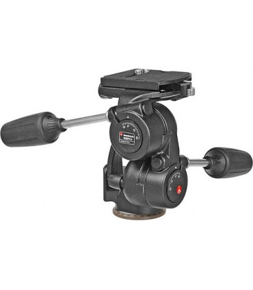 Manfrotto STANDARD 3-WAY WITH QUICK RELEASE PLATE 808RC4